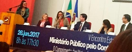 Undime-RJ participa do V Encontro Estadual - Ministério Público e o controle social na educação