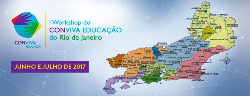 I Workshop do Conviva Educação do Rio de Janeiro